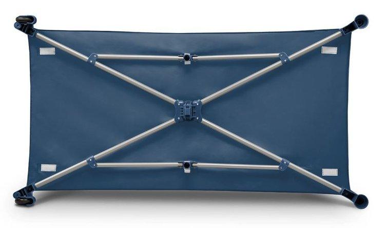 Łóżeczko turystczne 120x60 Stefi blue navy