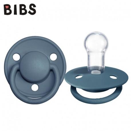 Bibs de lux smoczek uspokajający silikonowy Petrol 0-36m+