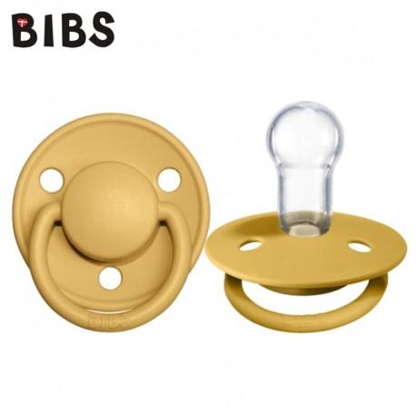 Bibs de lux smoczek uspokajający silikonowy Honey bee 0-36m+