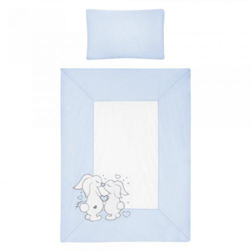 Pościel dziecięca Mama i ja 135x100 3 części niebieska Belisima