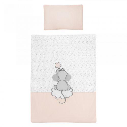 Pościel dziecięca Mama i ja 135x100 2 części różowa Belisima