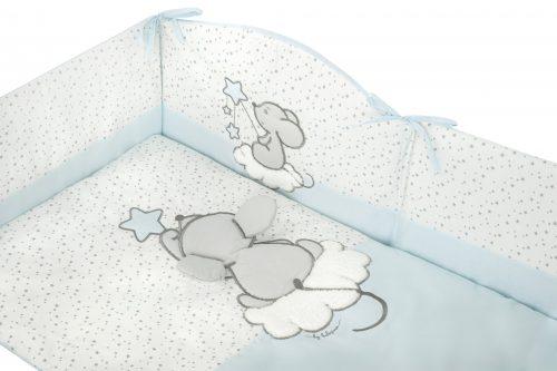 Becik rożek niemowlęcy Maleństwo turkus Belisima 75x75