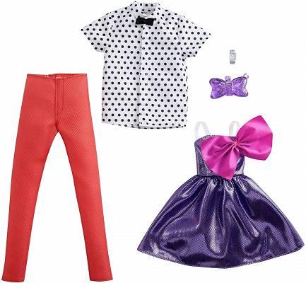 Ubranko dla Kena i Barbie 2pack GRC97 Barbie