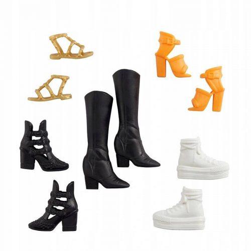 Zestaw butów dla Barbie 5 par GXG01 Barbie