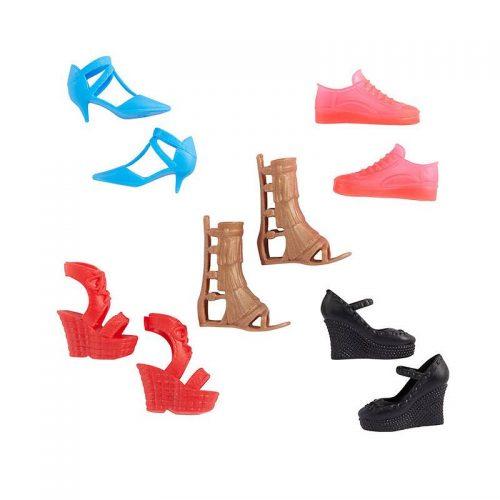 Zestaw butów dla Barbie 5 par GXG02 Barbie