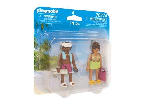 Playmobil figurki urlopowicze 2pack 70274