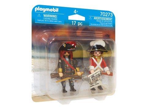 Playmobil pirat i oficer rotrock 2pack 70273