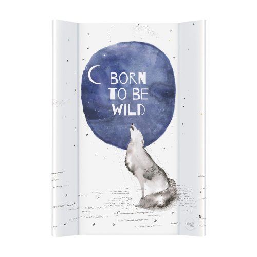 Przewijak nadstawka miękka na komodę profilowana 50x70 Watercolor world born to be wild Ceba