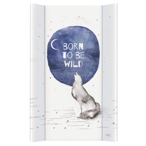 Przewijak nadstawka na łóżeczko długa 50x80 Watercolor world born to be wild Ceba