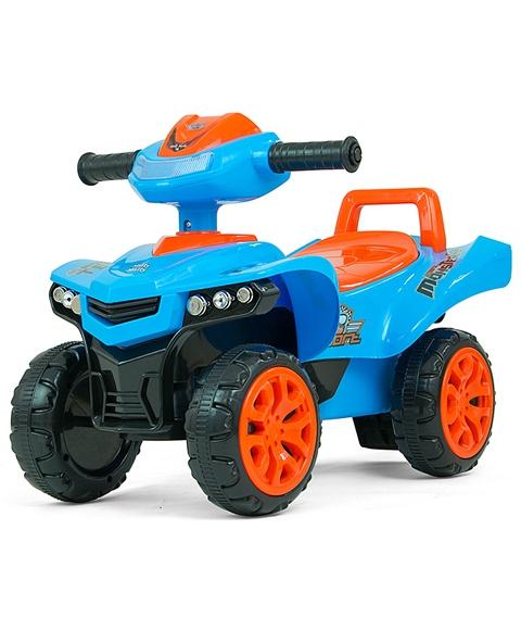 Jeżdzik dla dziecka quad Monster niebieski 12m+ Milly Mally