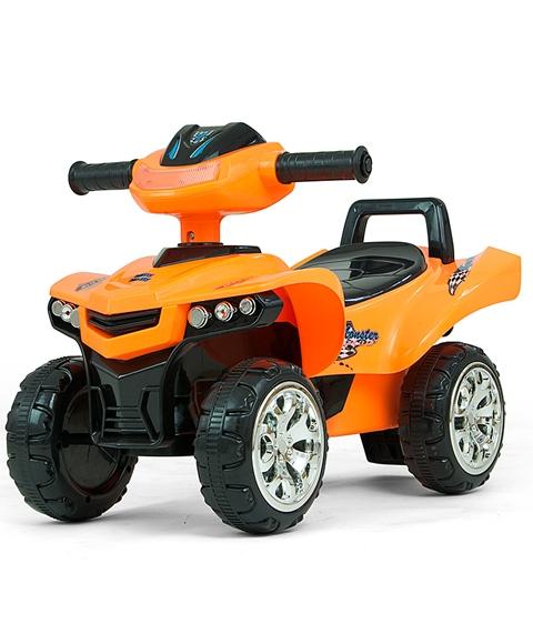 Jeżdzik dla dziecka quad Monster pomarańczowy 12m+ Milly Mally