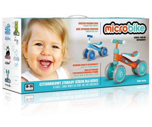 Pojazd odpychacz rowerek Micro Giraffe żyrafa Milly Mally