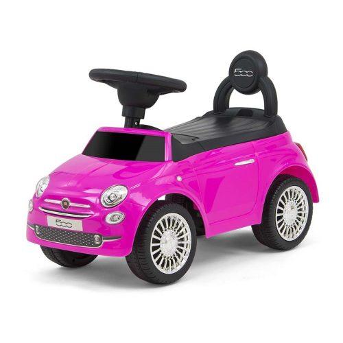 Milly Mally jeździk pojazd dla dziecka Fiat 500 różowy 18m+