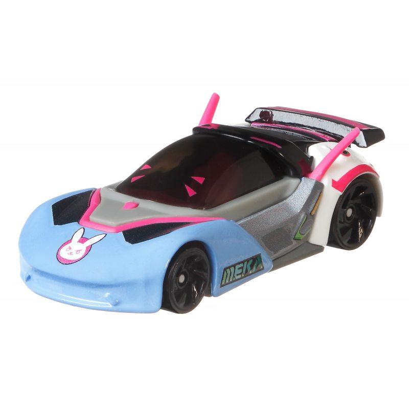 Hot wheels samochodziki z gry Super Mario D.Va GJJ23-GJJ26