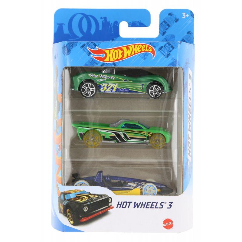 Hot wheels samochodziki 3-pak hot wheels 3 zestaw 9