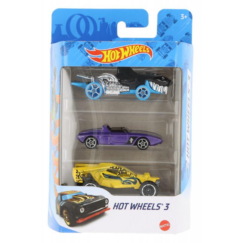 Hot wheels samochodziki 3-pak hot wheels 3 zestaw 8