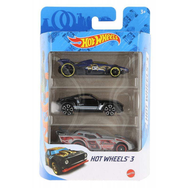 Hot wheels samochodziki 3-pak hot wheels 3 zestaw 2