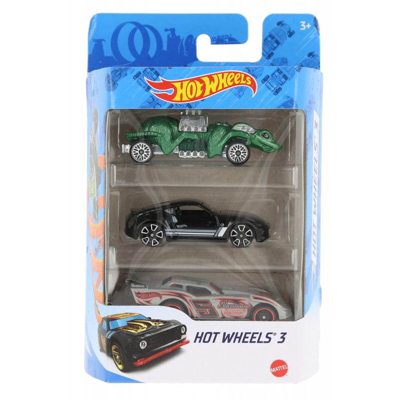 Hot wheels samochodziki 3-pak hot wheels 3 zestaw 7