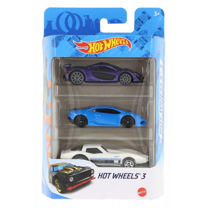 Hot wheels samochodziki 3-pak hot wheels 3 zestaw 5