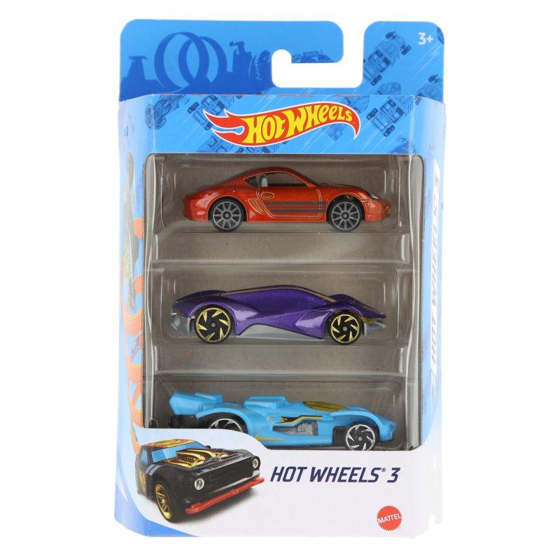 Hot wheels samochodziki 3-pak hot wheels 3 zestaw 4