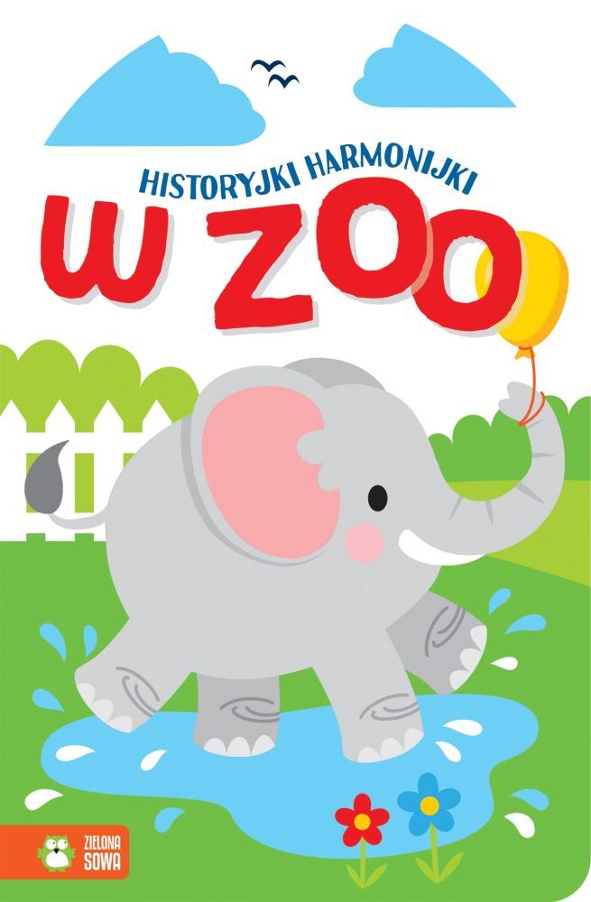 Książeczka harmonijka W zoo