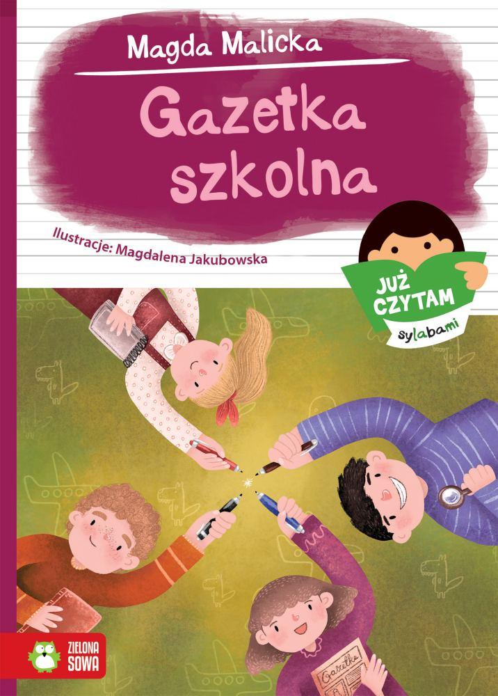 Już czytam sylabami Gazetka szkolna 6+