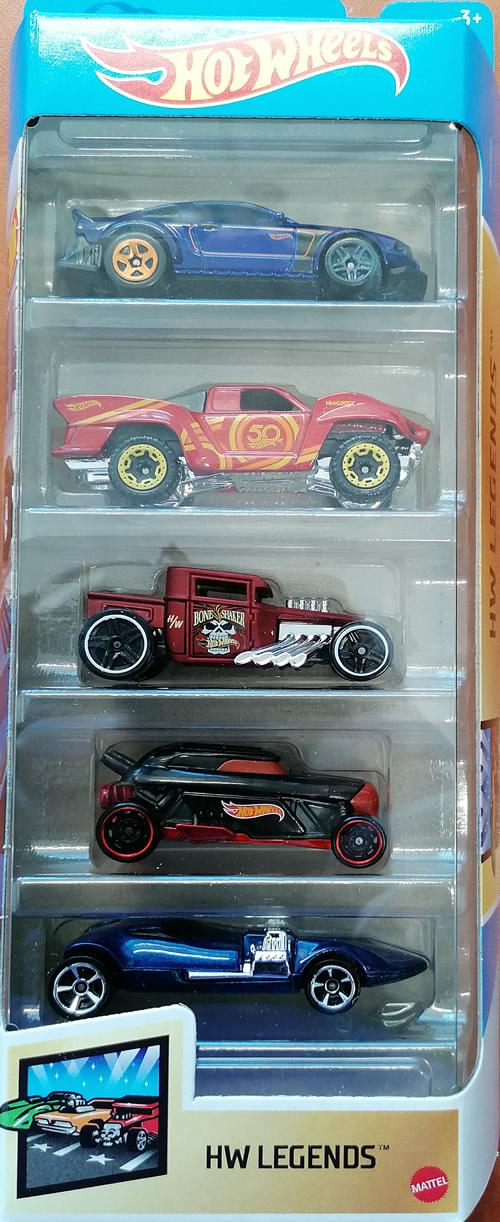 Hot wheels samochodziki 5-pak Hw Legends GTN38