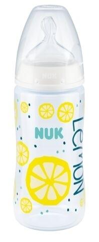 Butelka do karmienia ze wskaźnikiem temperatury Fc 300ml 6-18m+ Fruits biały Nuk