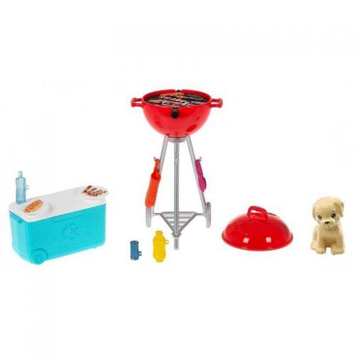 Świat Barbie mini zestaw mebelków grill GRG76 3+ Barbie