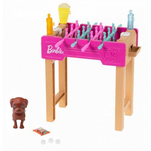 Świat Barbie mini zestaw mebelków piłkarzyki GRG77 3+ Barbie