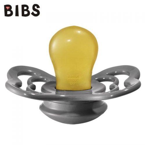 Bibs Supreme smoczek kauczukowy symetryczny S 0-6m+ Iron