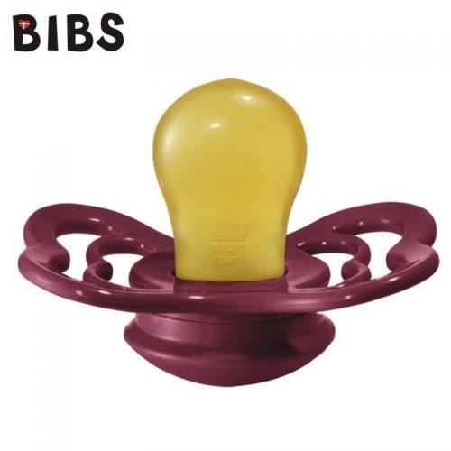 Bibs Supreme smoczek kauczukowy symetryczny S 0-6m+ Ruby
