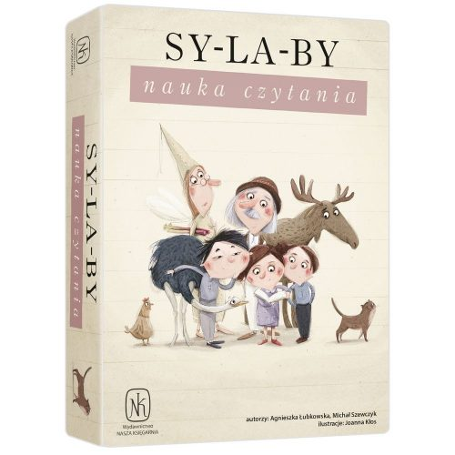 Gra edukacyjna Sylaby- nauka czytania 7+