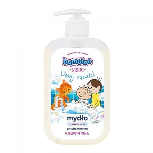 Bambino mydło antybakteryjne w płynie z pantenolem 500ml 12m+