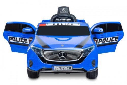 Toyz pojazd na akumulator Mercedes Benz EQC Policja niebieski