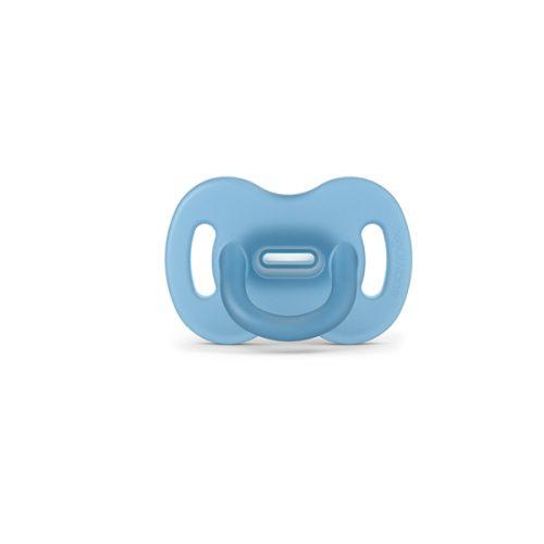 Smoczek fizjologiczny silikonowy 6-18 SX Pro niebieski Suavinex