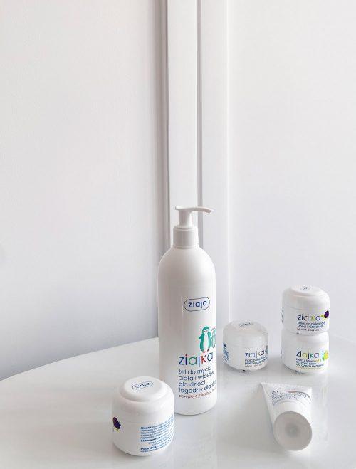 Ziajka mleczko wodoodporne w sprayu  dla dzieci do opalania 170ml 12m+
