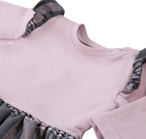 Ewa klucze sukienka adventure dres 92 różowa krata