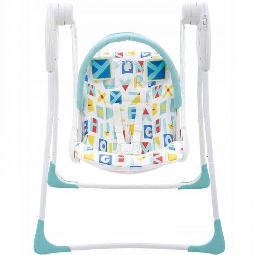 Huśtawka mechaniczna dla niemowląt i dzieci Graco Baby Delight Bloock Alphabet