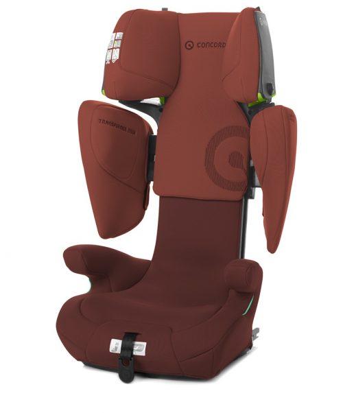 Fotelik samochodowy 15-36 kg Concord Transformer ITECH i-Size 100-150 cm kolor Grape Red