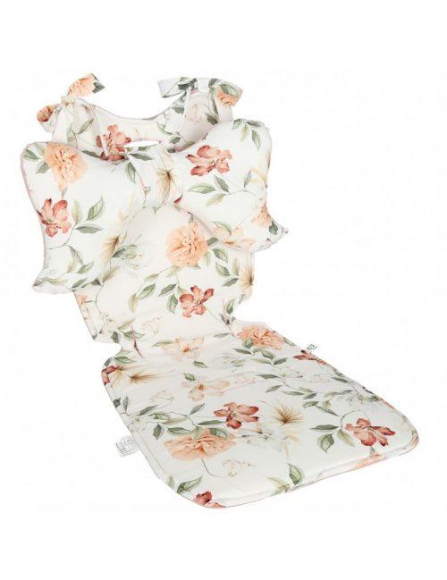 Yosoy poduszka antywstrząsowa do wózka, poduszka motylek Kwiaty Boho