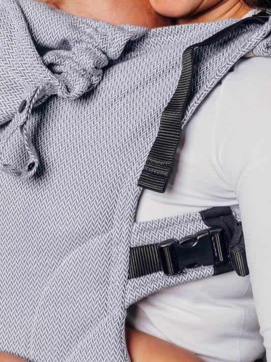 Lenny Lamb nosidełko ergonomiczne LennyGo Mała jodełka szara rozm 14-36m+