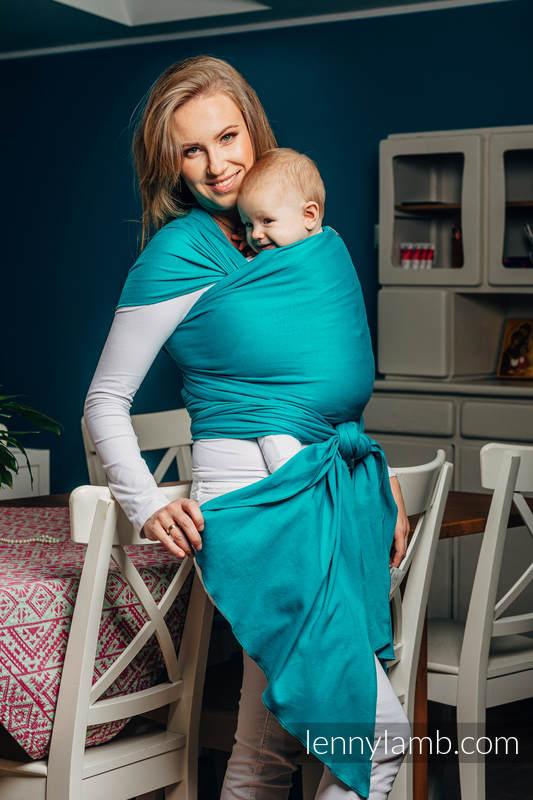 Lenny Lamb elastyczna chusta do noszenia dzieci One size (5m) Turkus