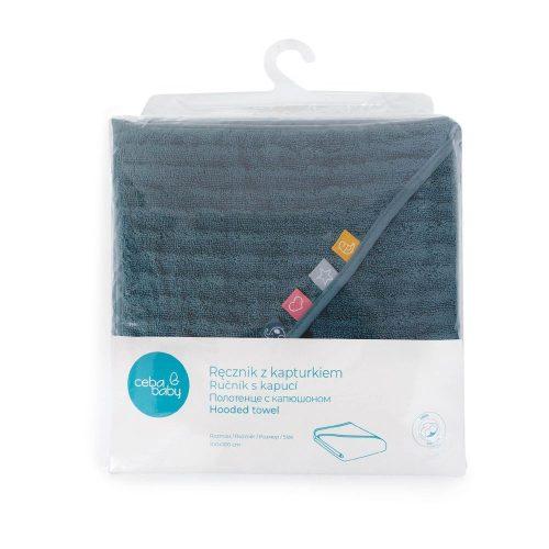 Okrycie kąpielowe, ręcznik dla niemowlaka 100x100 Malibu Wave Line Ceba