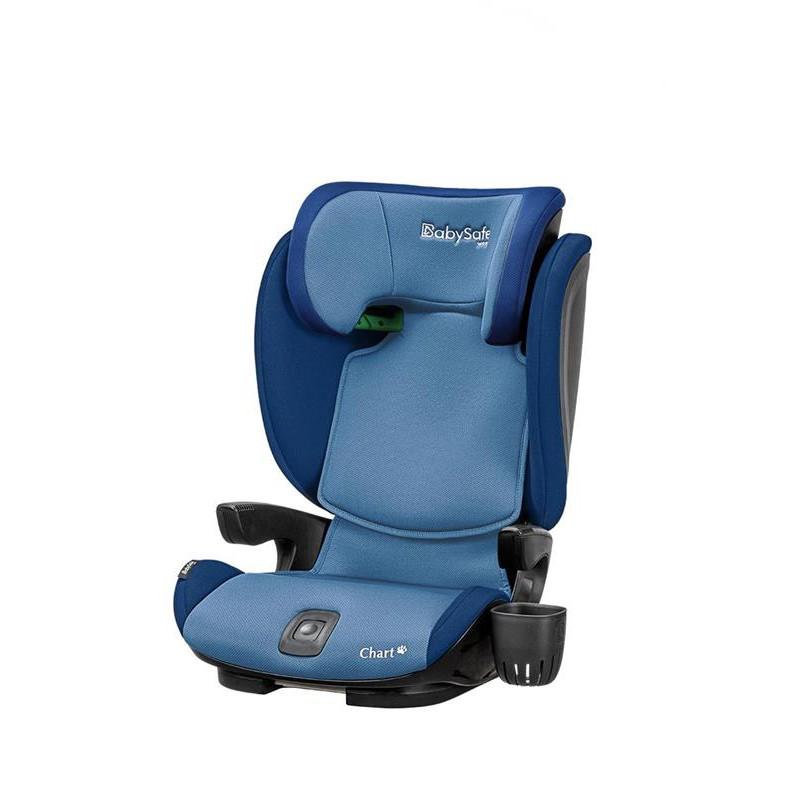BabySafe Chart i-Size fotelik samochodowy od 100 - 150 cm wzrostu kolor Niebieski