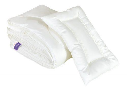Wypełnienie pościeli Senna Baby Satine poduszka i kołderka 100 x 135 cm - 4 pory roku
