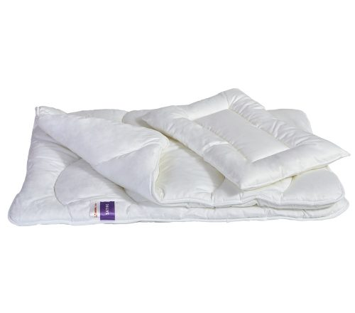 Wypełnienie pościeli Senna Baby Satine poduszka i kołderka 100 x 135 cm