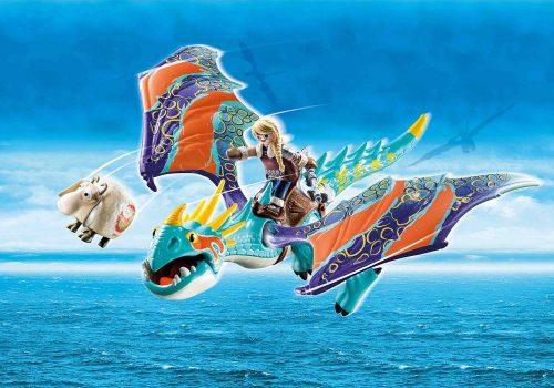 Playmobil Dragon racing Astrid i Wichura 4+ 70728