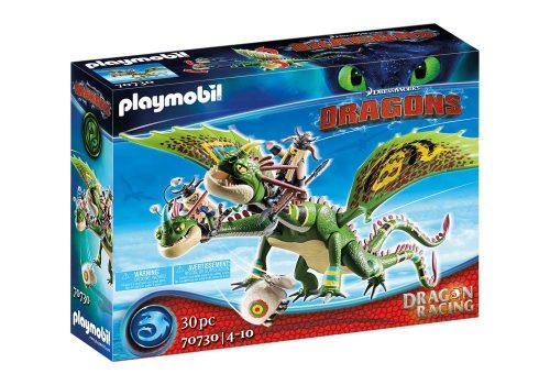 Playmobil Dragon racing Sączysmark i Hakokieł 4+ 70731
