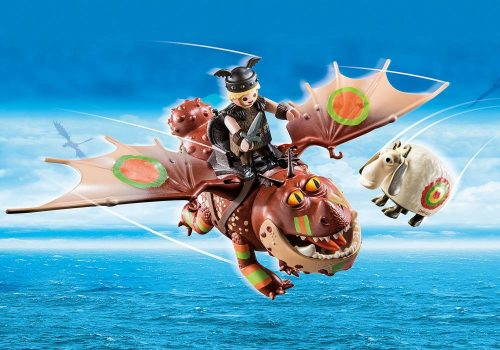 Playmobil Dragon racing Śledzik i Sztukamięs 4+ 70729